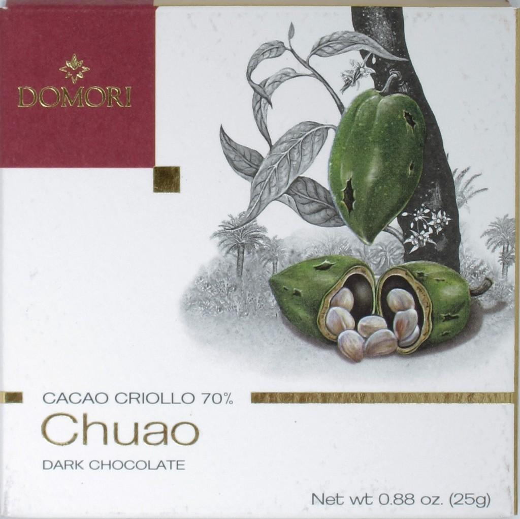 """Domori Bitterschokolade 70% """"Chuao"""""""