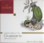Domori Schokolade Guasare 70%, Vorderseite