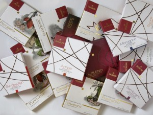 Stapel Domor-Schokoladen