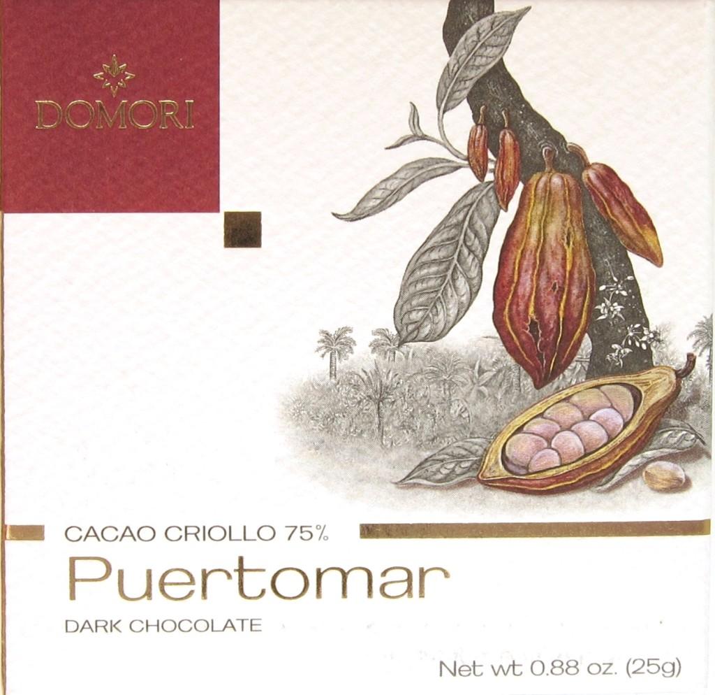 """Domori-Bitterschokolade """"Puertomar"""""""