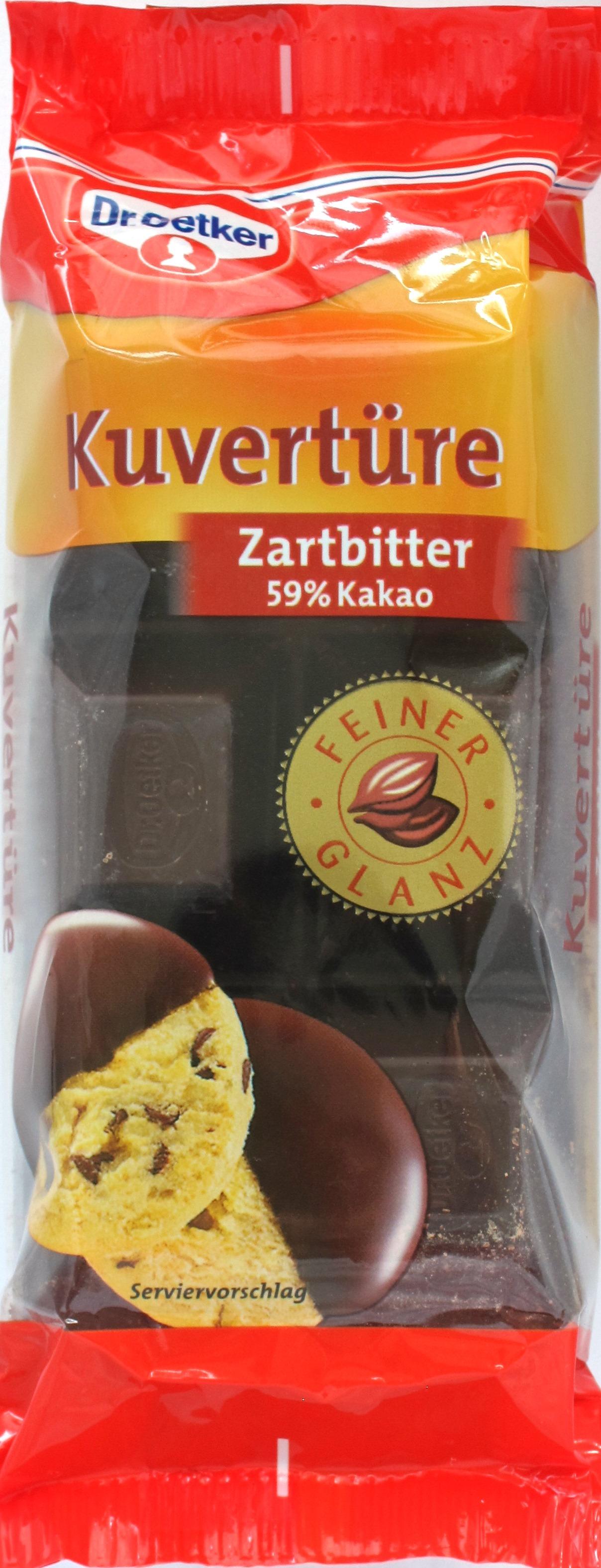 Cover: Dr. Oetker Zartbitterkuvertüre