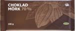 "Tafelvorderseite ""Ikea Choklad Mörk 70%"""
