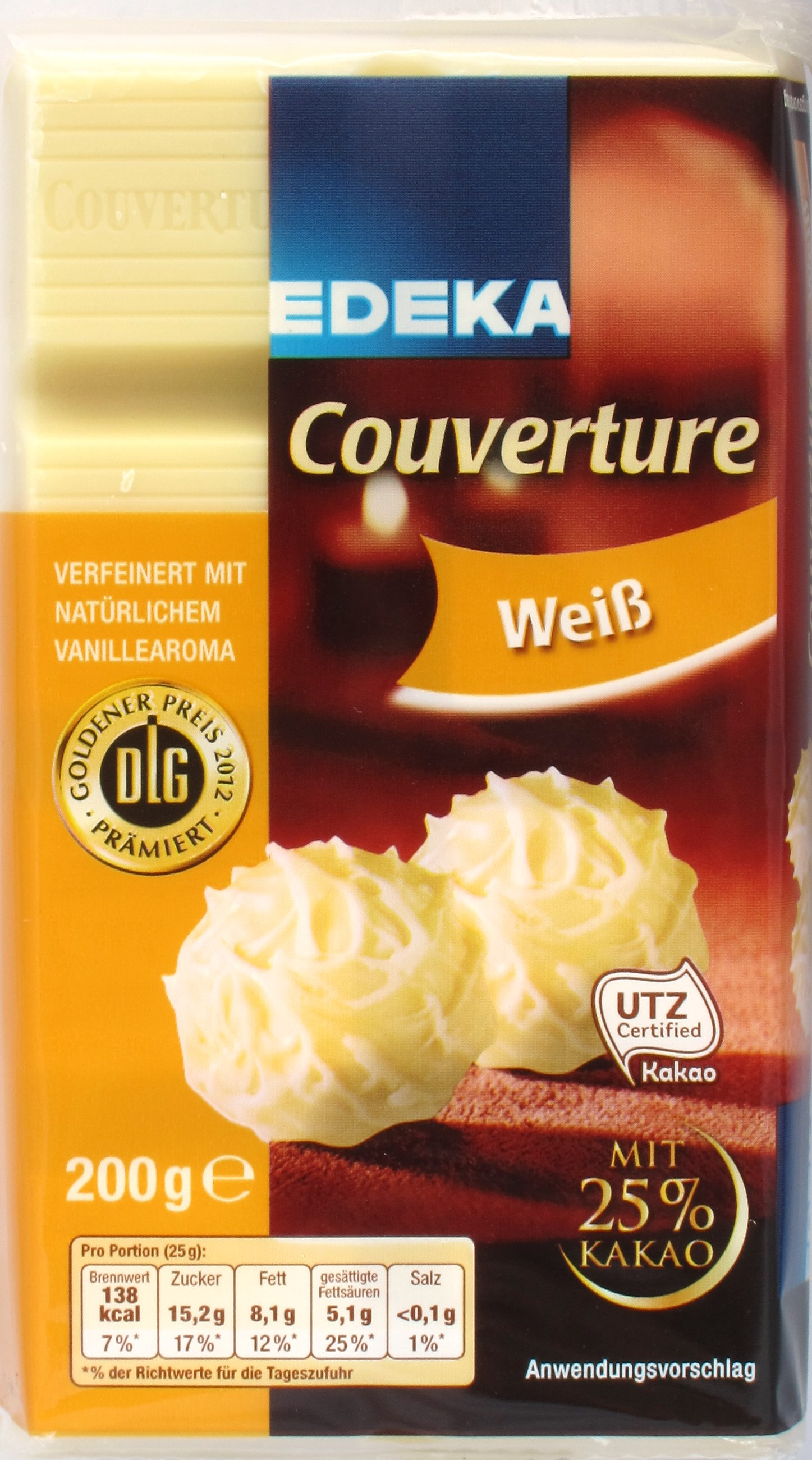 EDEKA Couverture weiß, Cover