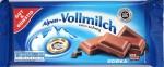 Vorderseite: Gut & Günstig Milchschokolade 30%