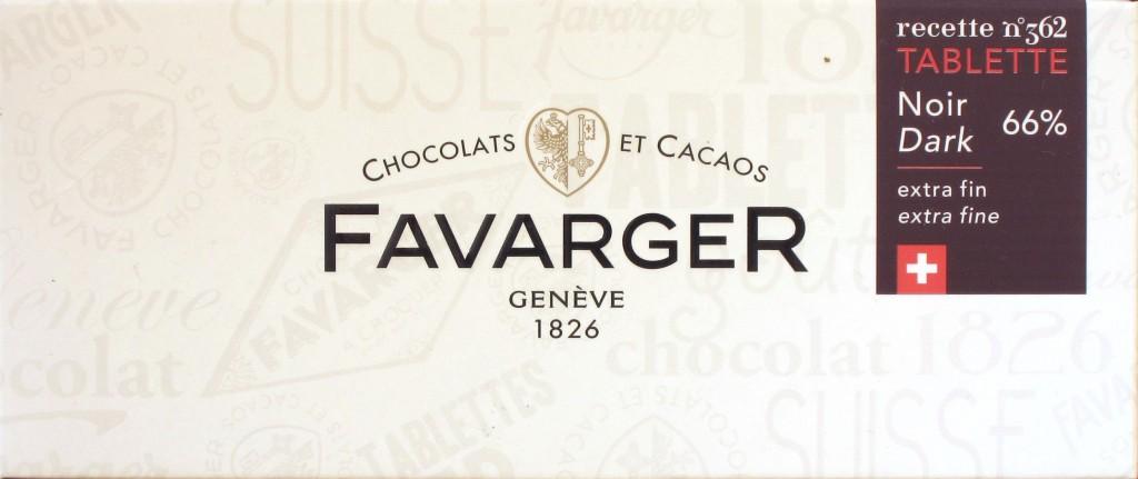 Favarger Dark/Noir 66%