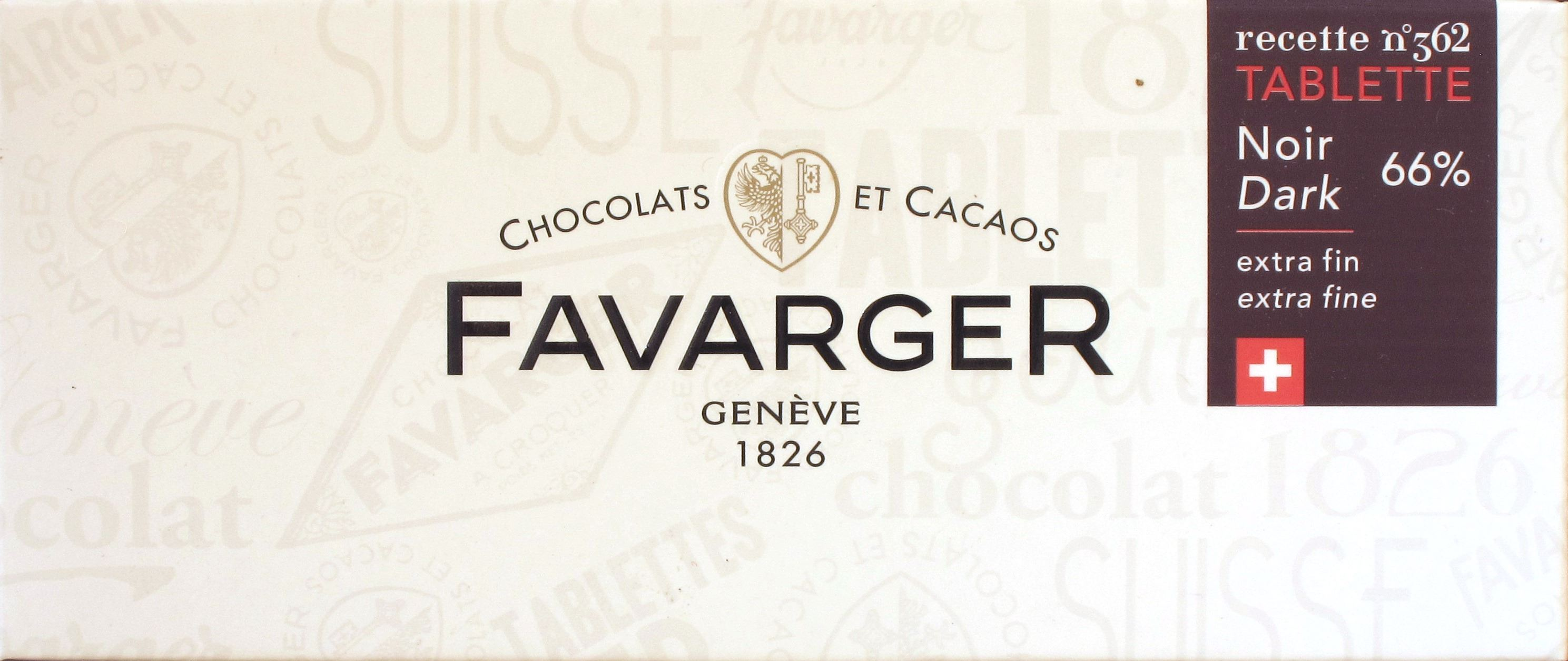 Favarger Dark/Noir 66%
