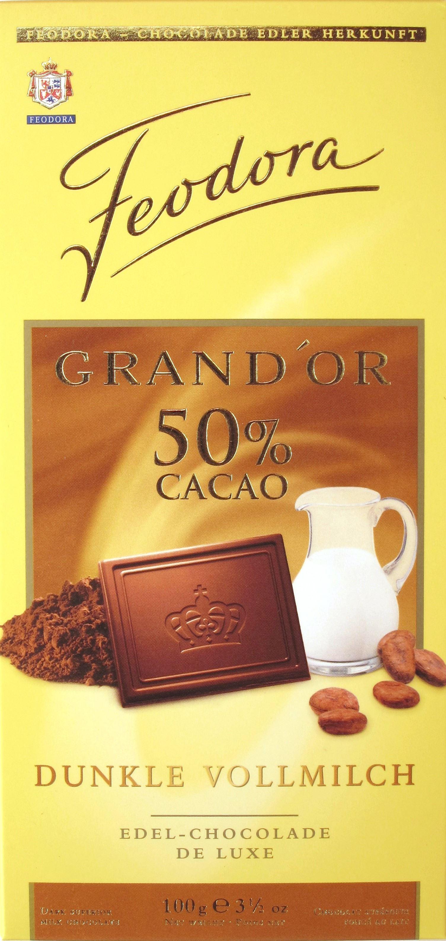 Feodora Dunkle Milchschokolade