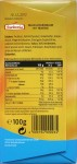 Frankonia 34%-Milchschokolade mit Fruktose, Rückseite