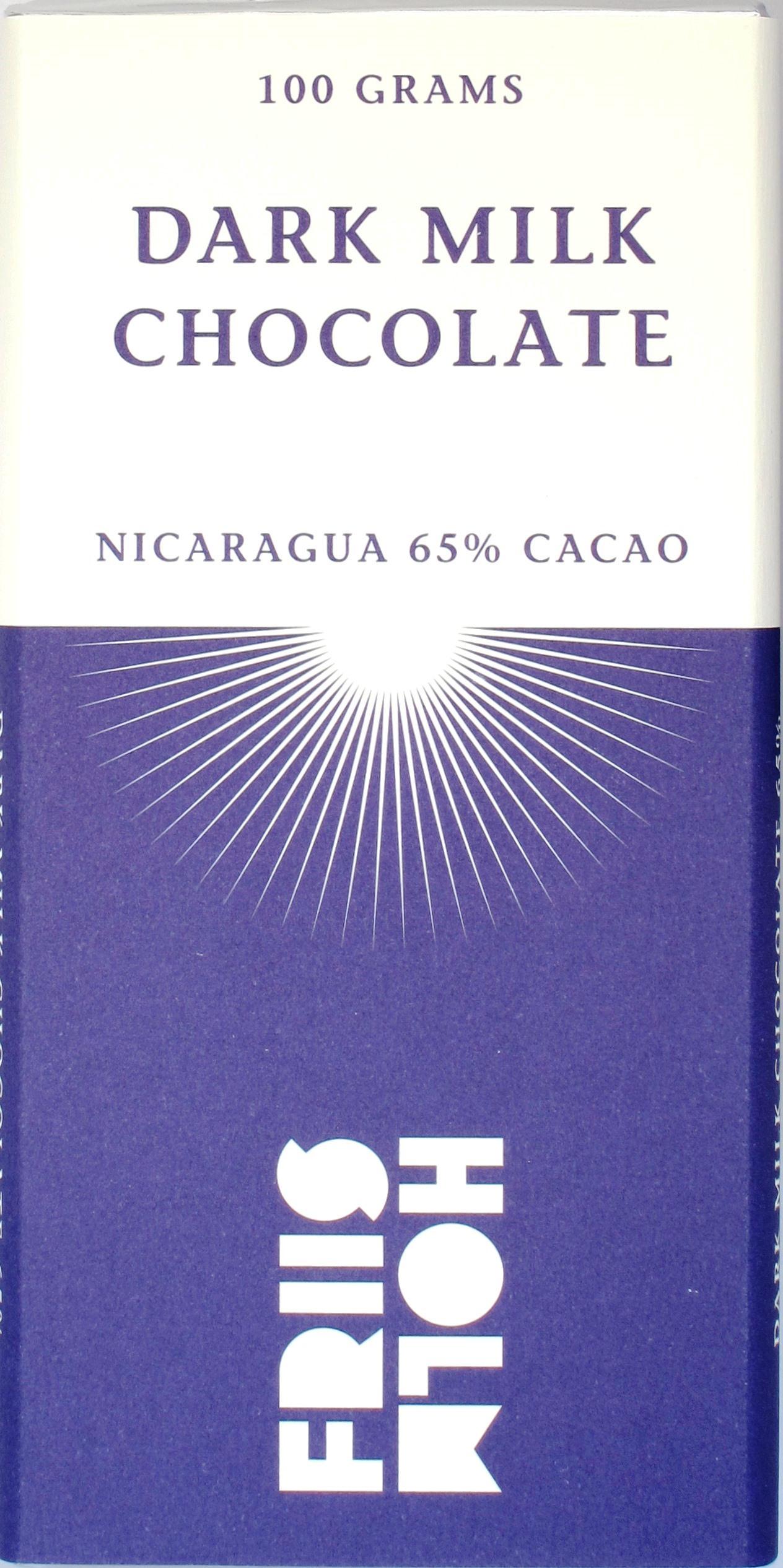 Friis-Holm, Nicaragua 65% Milchschokolade