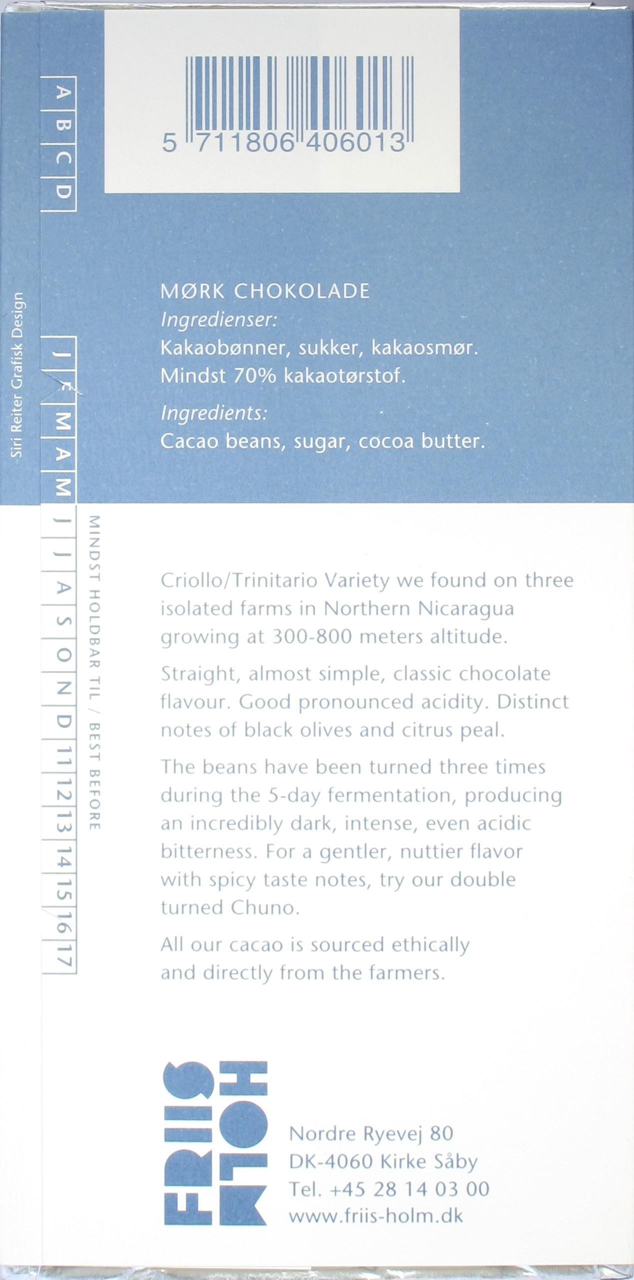 Rückseite: Friis-Holm 70% Chuno 3x Turned