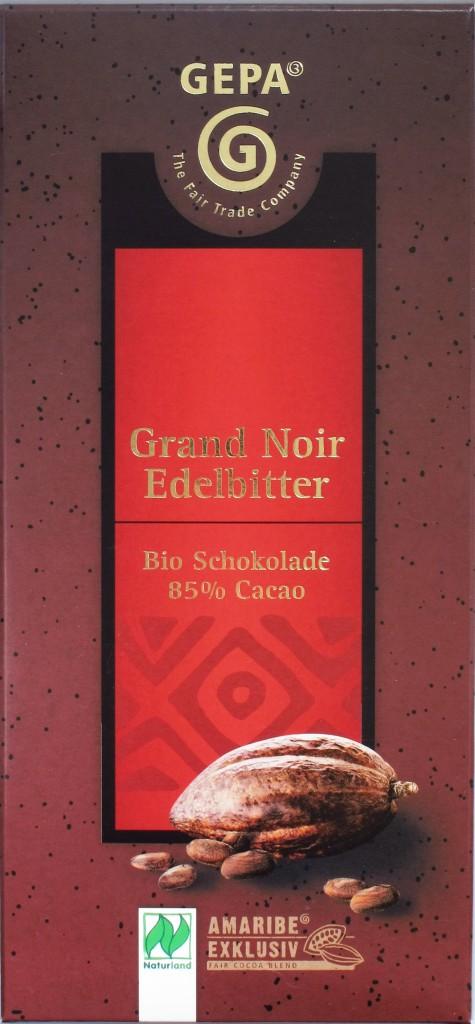 Vorderseite: GEPA Grand Noir 85%