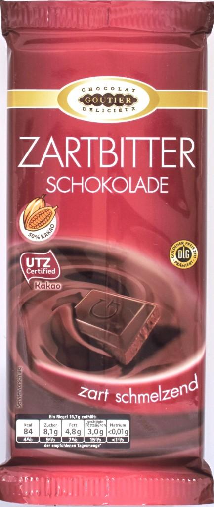 Goutier-Zartbitterschokolade