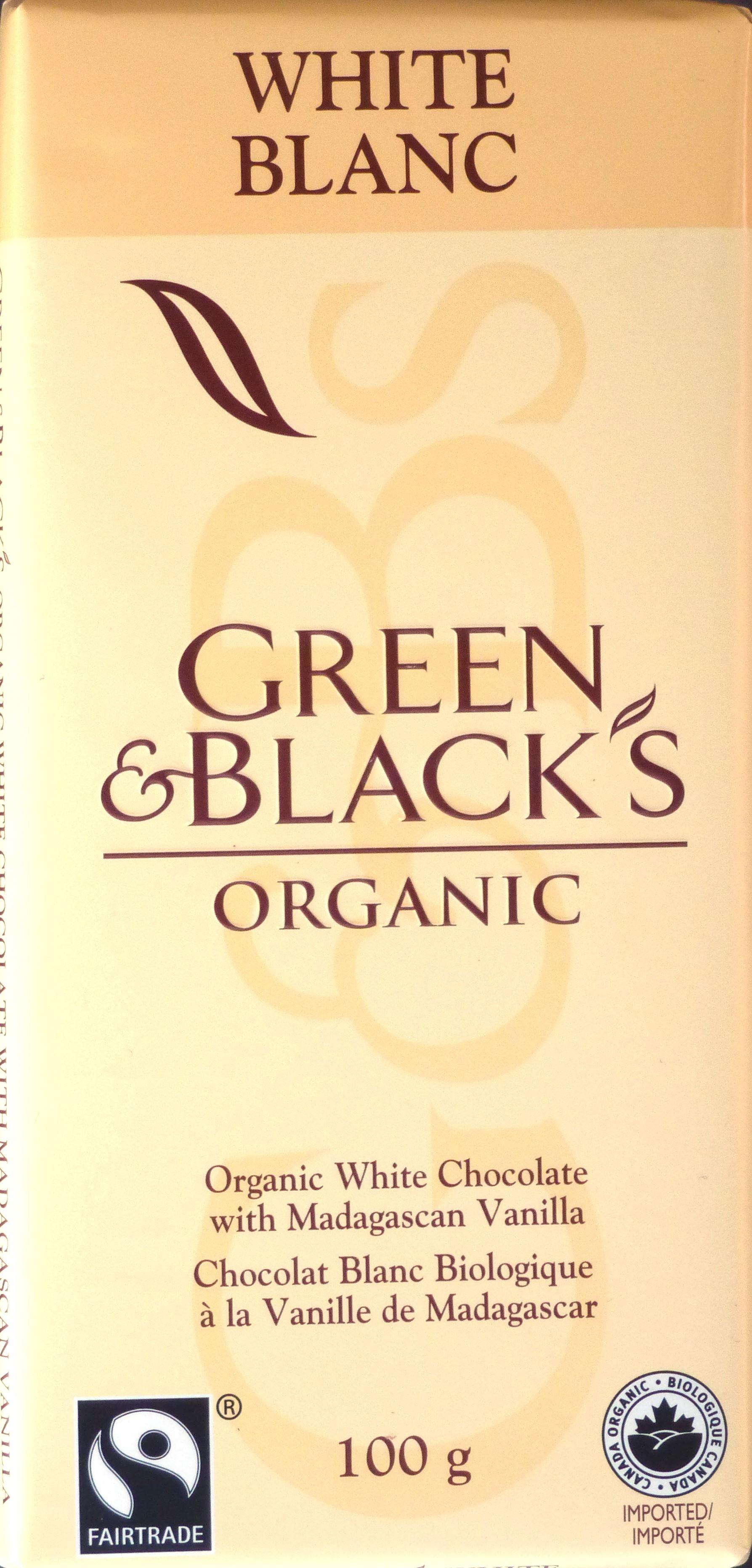 Green & Black's Weiße Schokolade