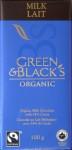 Green & Black's Bio-Milchschokolade (vorne)
