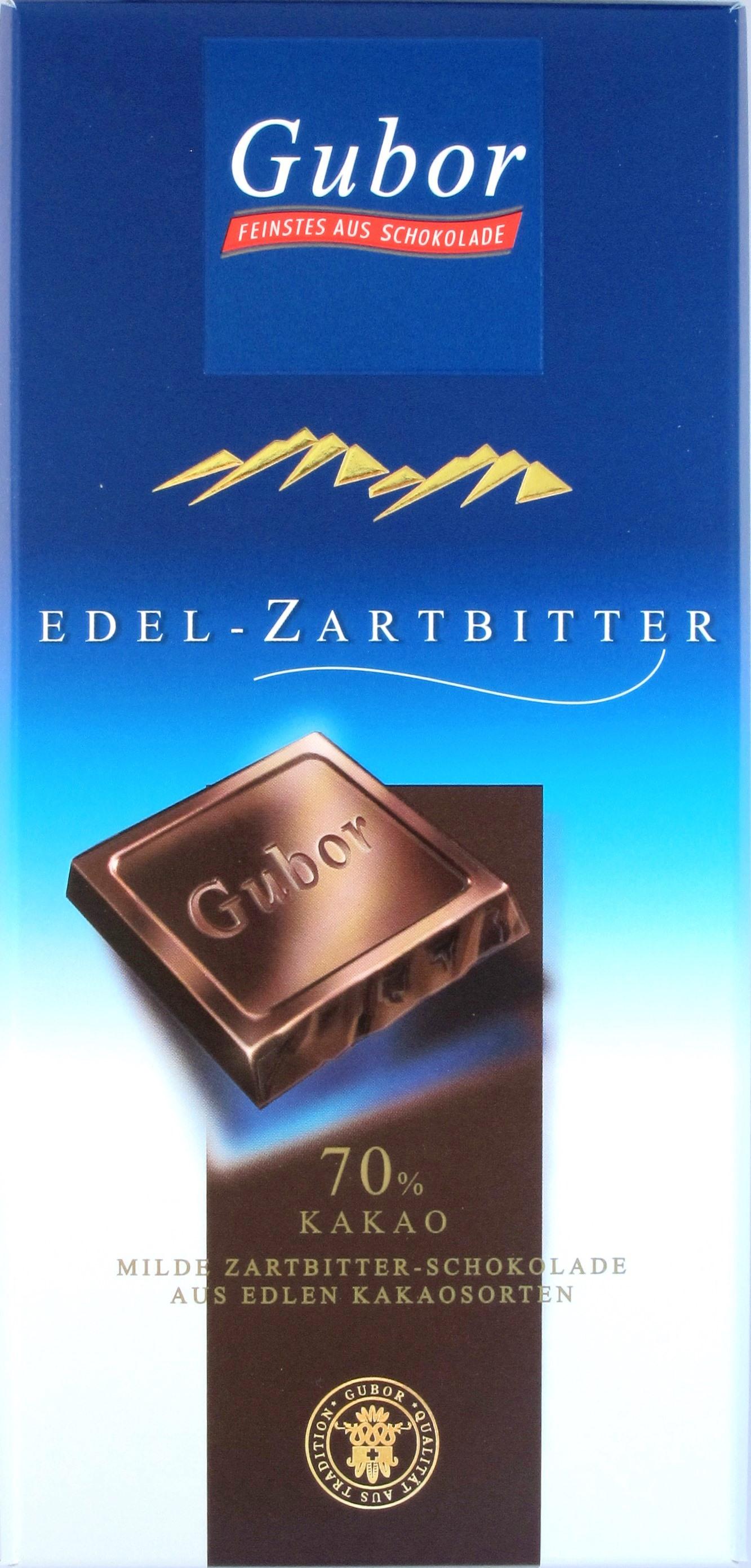 Gubor Zartbitterschokolade