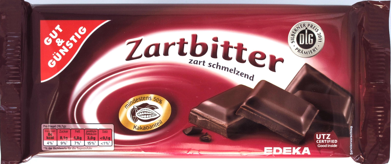 Gut & Günstig Zartbitterschokolade