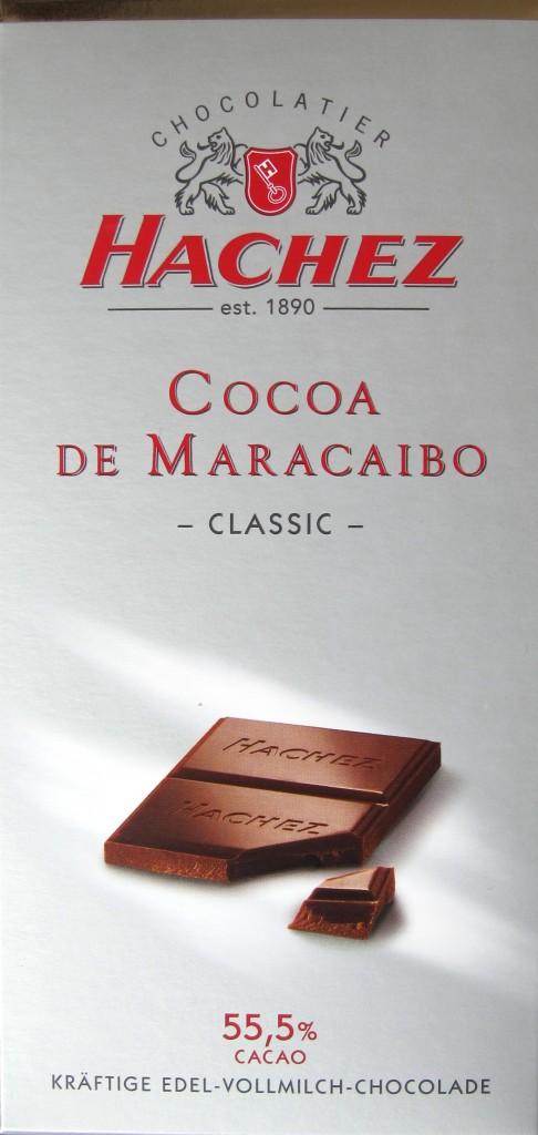 "Hachez Milch-Chocolade ""Cocoa de Maracaibo"""