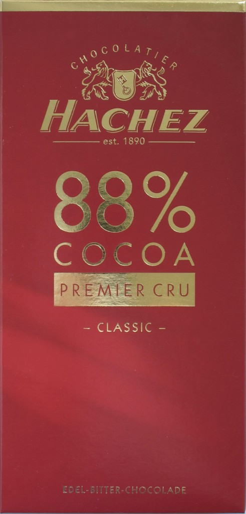 Hachez 88% Schokolade