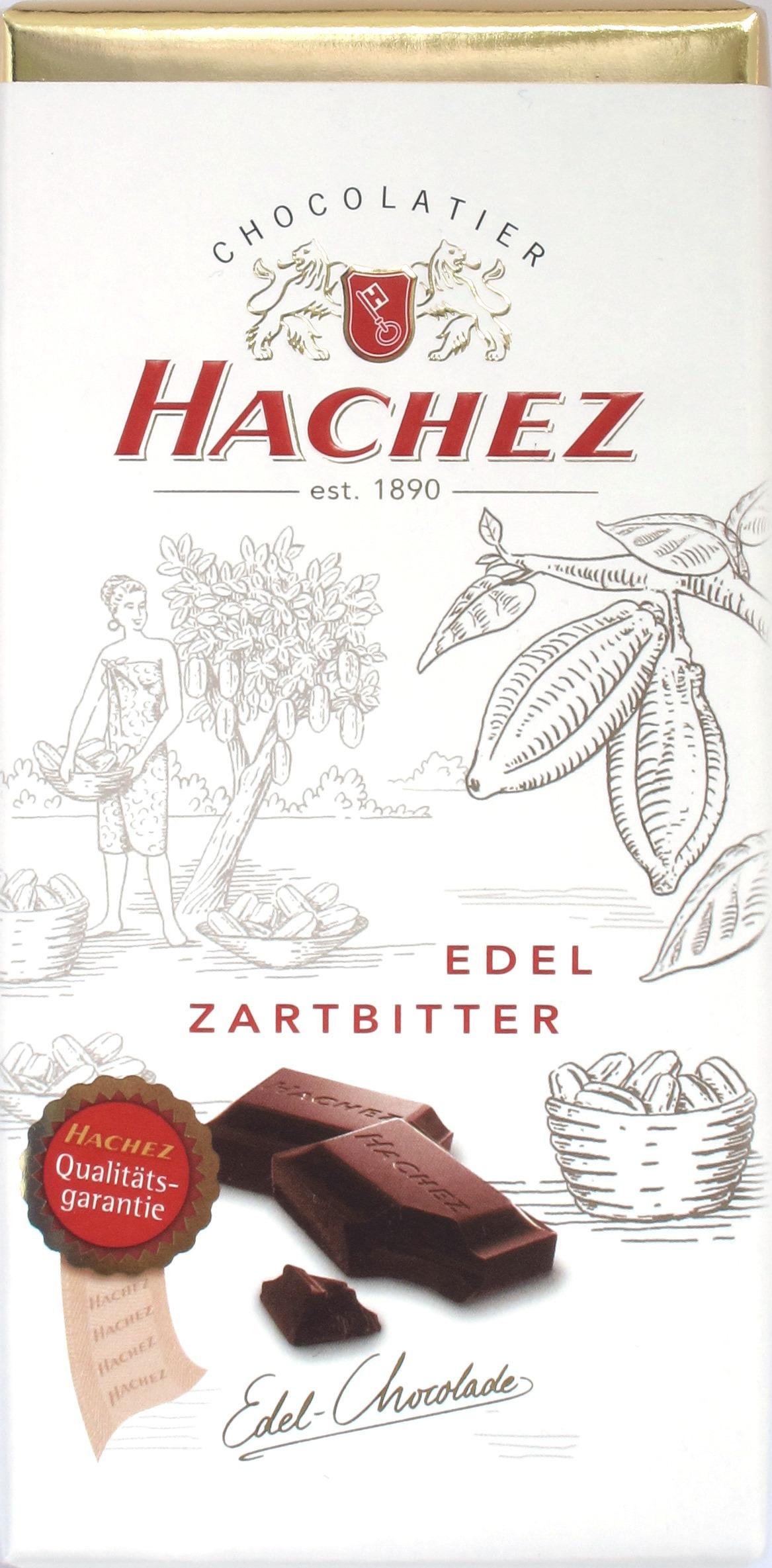 Hachez 55% Edel-Zartbitter-Schokolade
