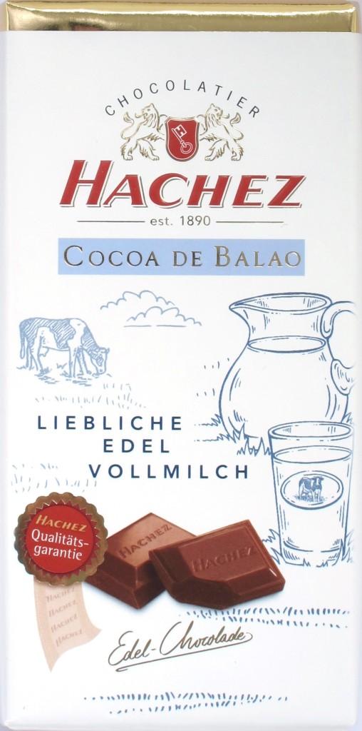 """Hachez-Milchschokolade """"Cocoa de Balao"""""""