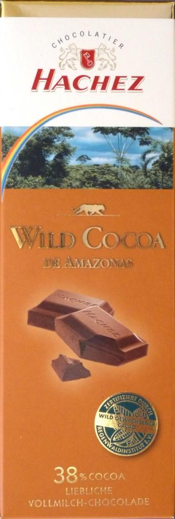 "Hachez ""Wild Cocoa"" - Vollmilchschokolade 38%"