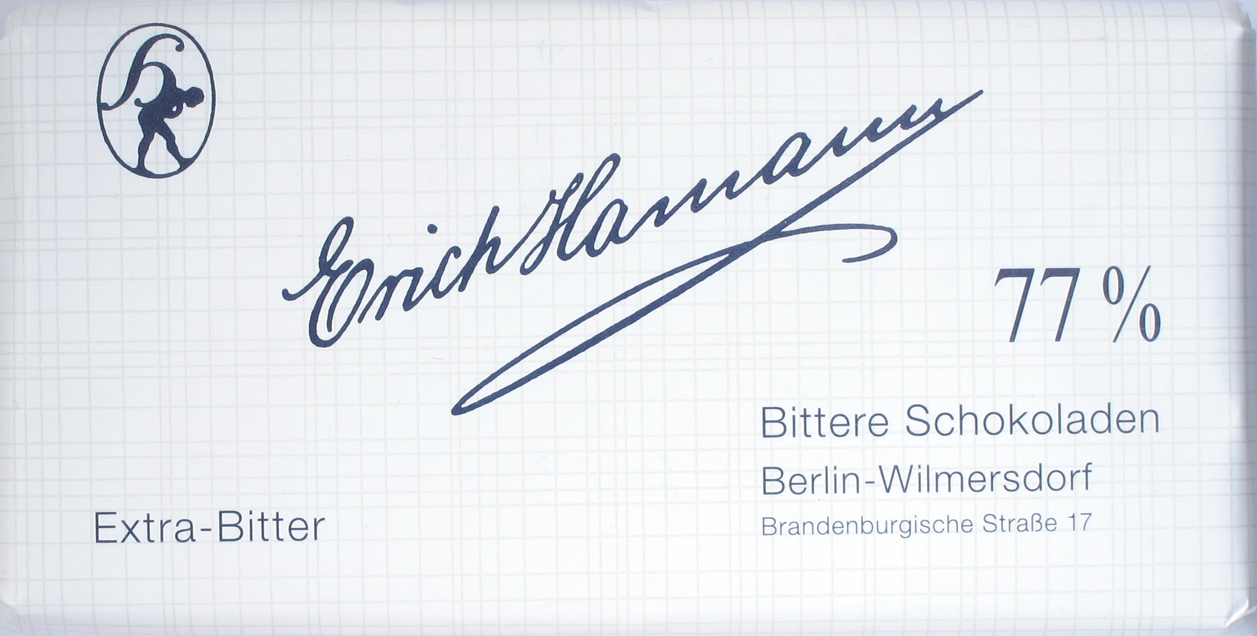 Erich Hamann Schokolade 77%