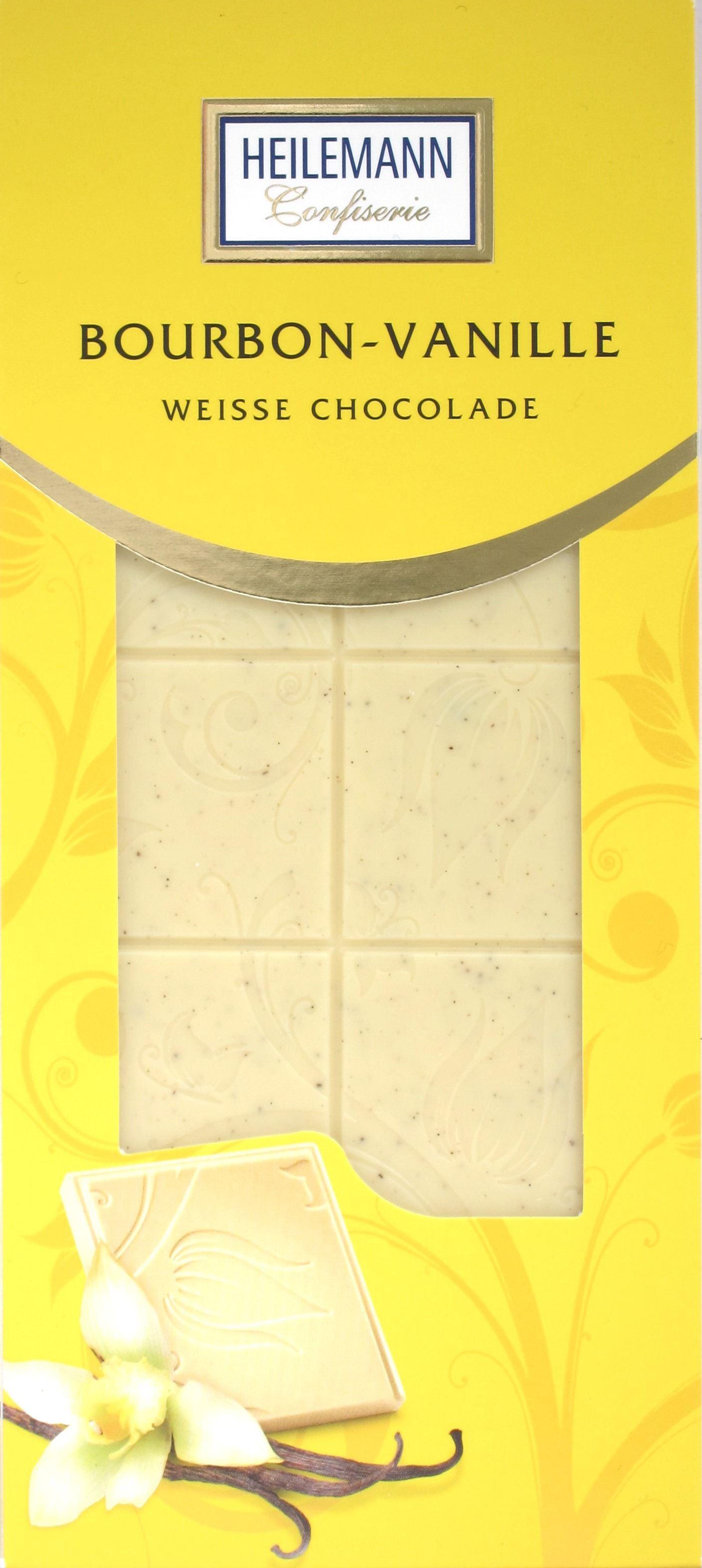 Confiserie Heilemann: Weiße Schokoladen-Tafel