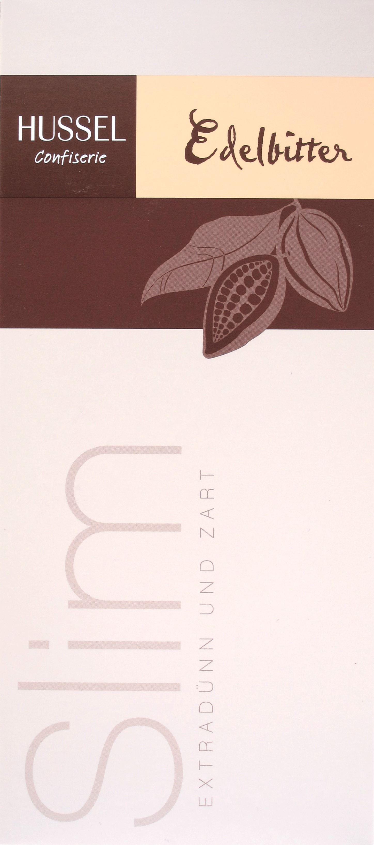 Hussel 62%-Schokoladentafel Slim