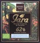 Hussel Iara 62% Vollmilchschokolade, Vorderseite