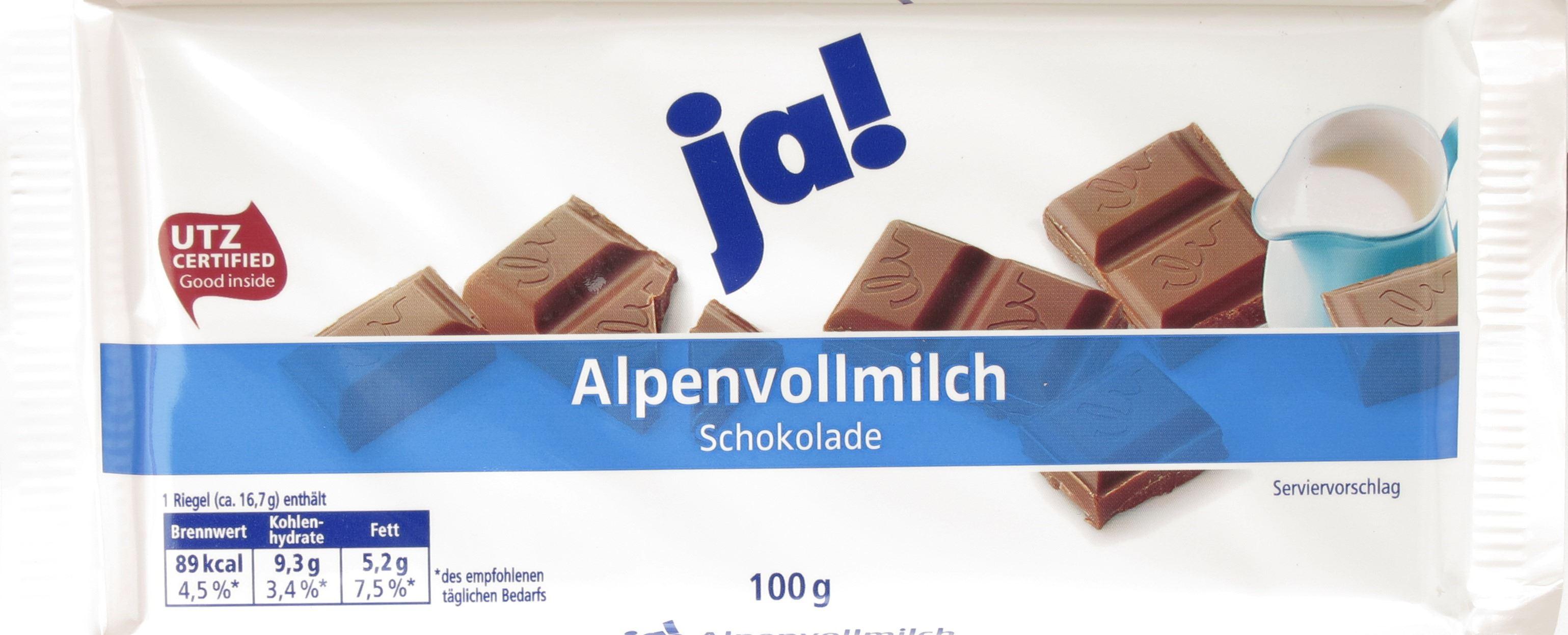REWE-Milchschokolade