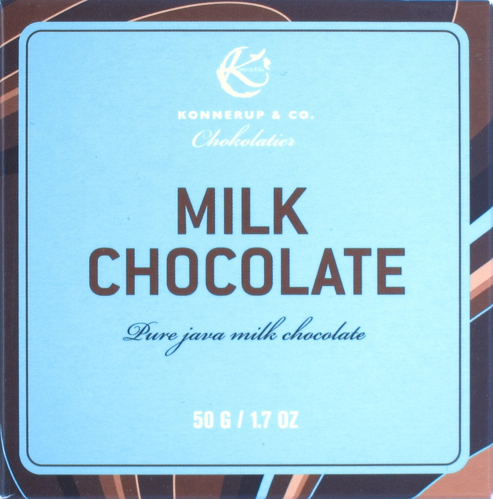"Vorderseite: Konnerup ""Milk Chocolate"""