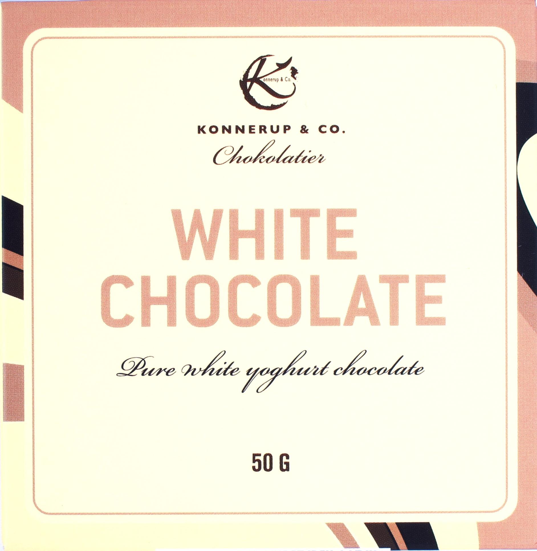 Konnerup Weiße Schokolade 32,3%