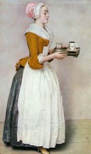 Jean-Étienne Liotard - La Belle Chocolatière