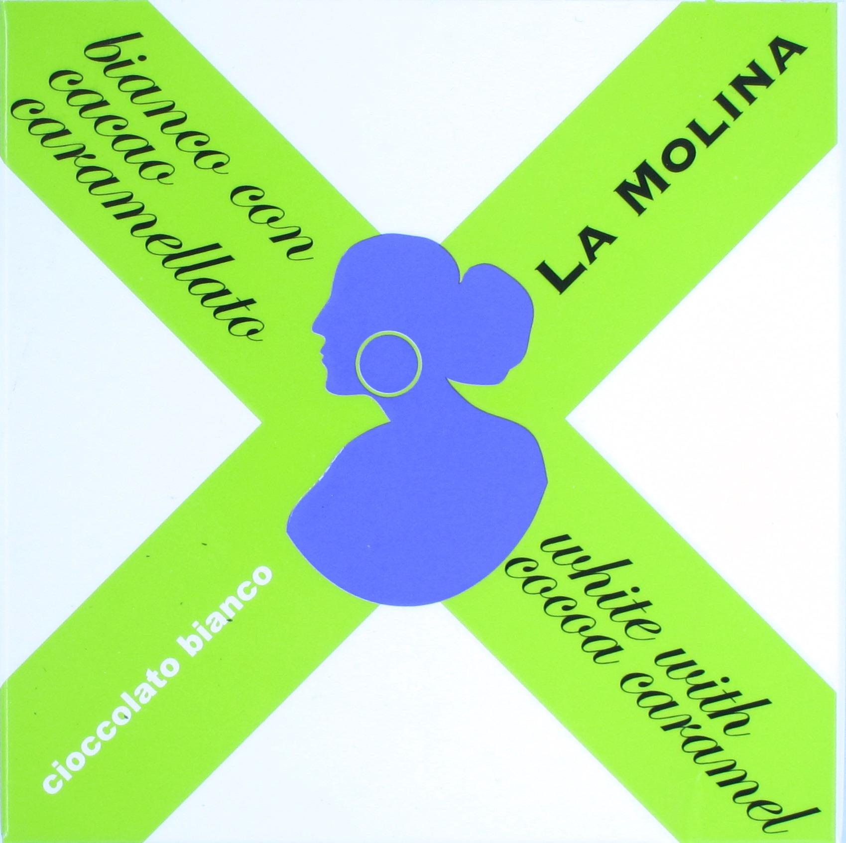 Vorderseite: La Molina Bianco con Cacao Caramellato