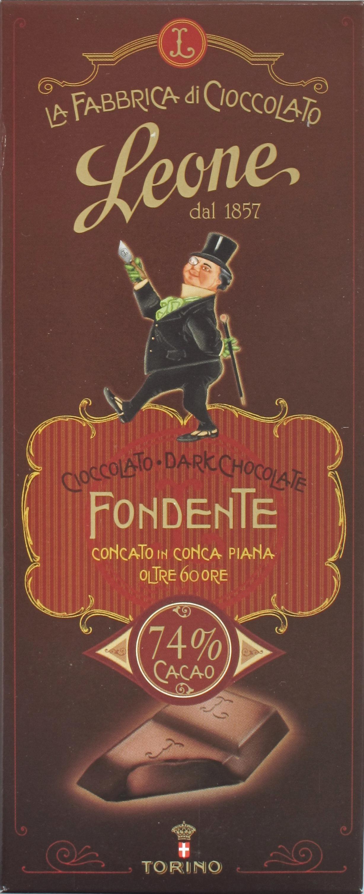 Pastiglie Leone Bitterschokolade 74%