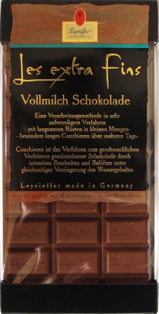 Leysieffer Les Extra Fins Vollmilch-Schokolade