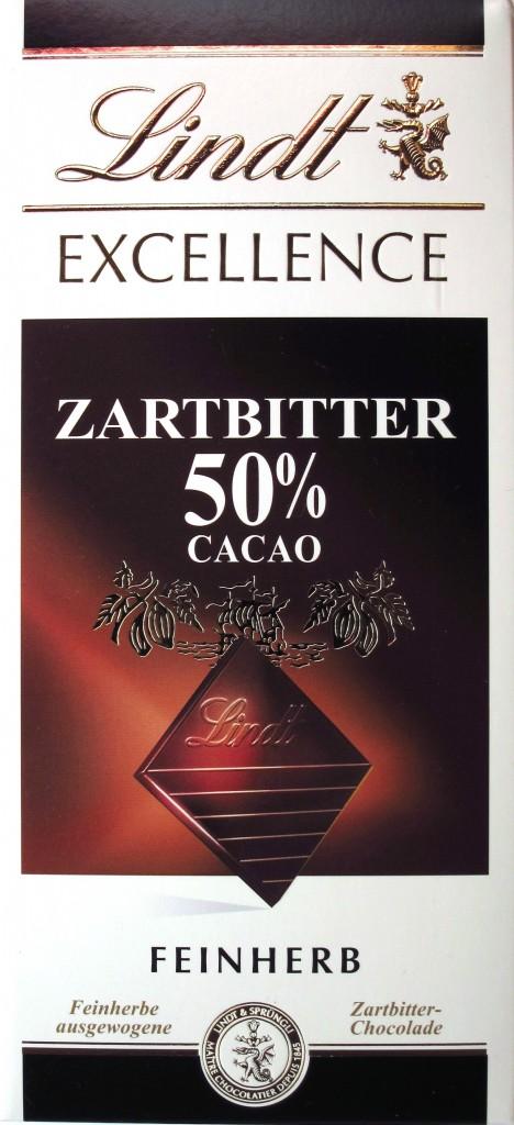 Lindt 50%-Schokolade