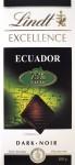 """Lindt """"Ecuador"""", 75%"""