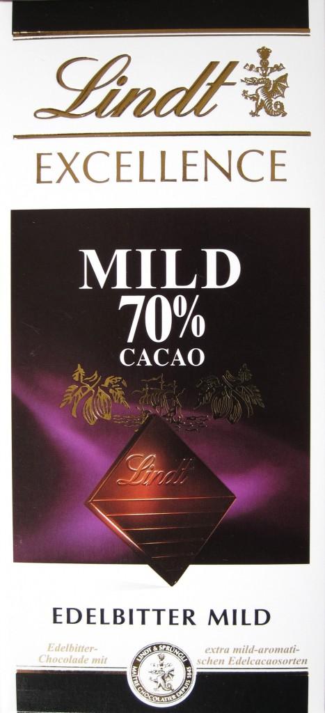 Lindt Excellence 70% Mild
