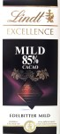 Lindt Bitterschokolade 85%, mild (Packung)