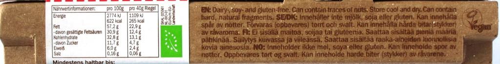 Lovechock 100% Raw Chocolate Kakaonibs, Seite 2