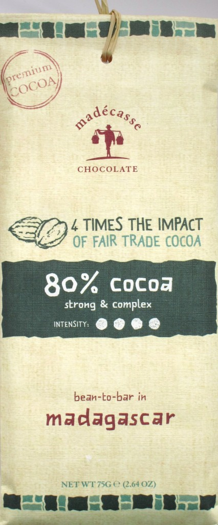 Madecasse-Schokoladentafel 80%
