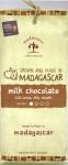 Madécasse 44%-Milchschokolade, Vorderseite