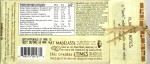 Madécasse 44%-Milchschokolade, Rückseite
