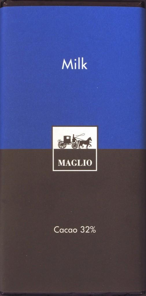 Maglio, Milchschokolade, Vorderseite