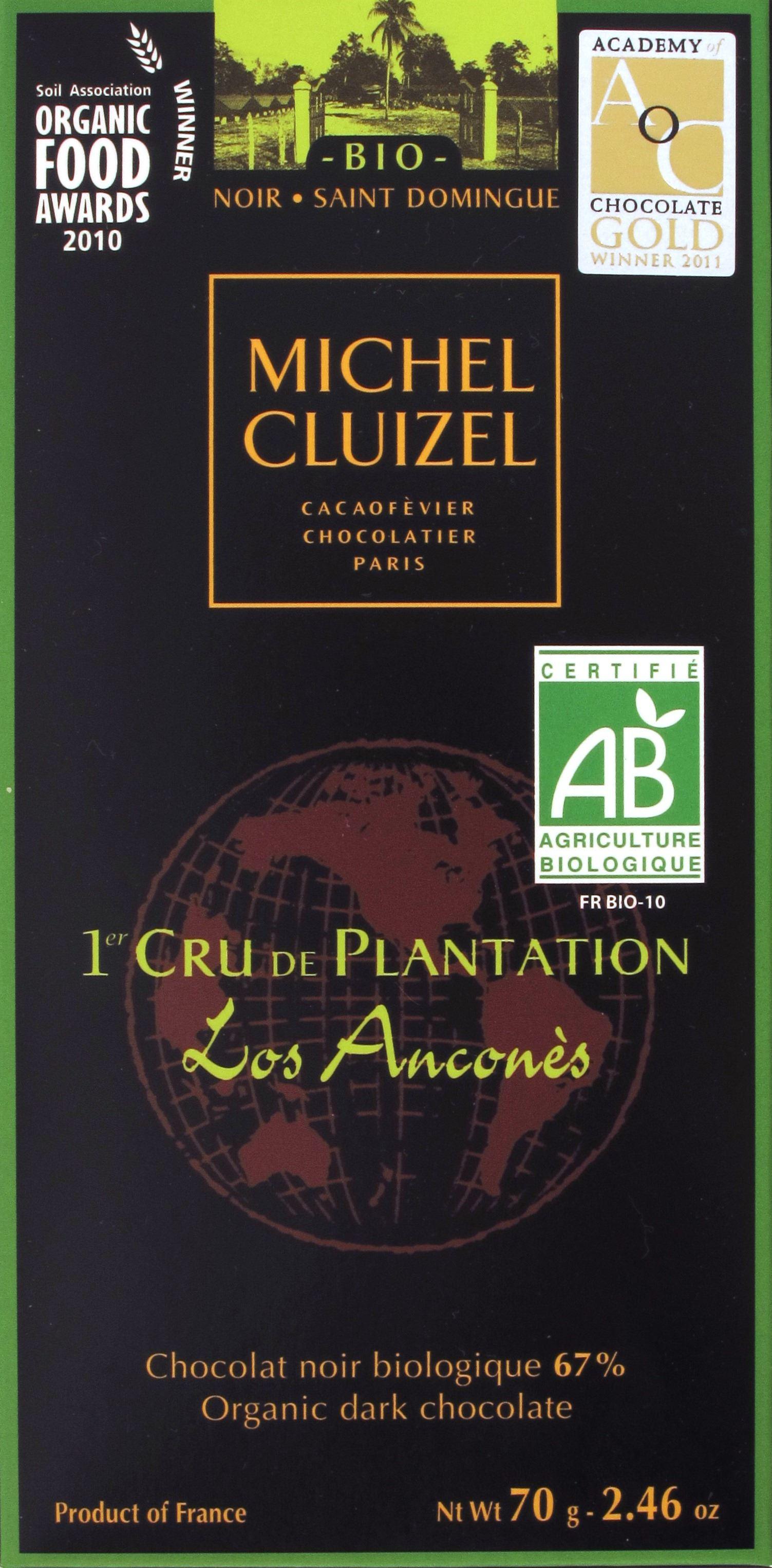 "Michel Cluizel, ""Los Anconés"", 67%"