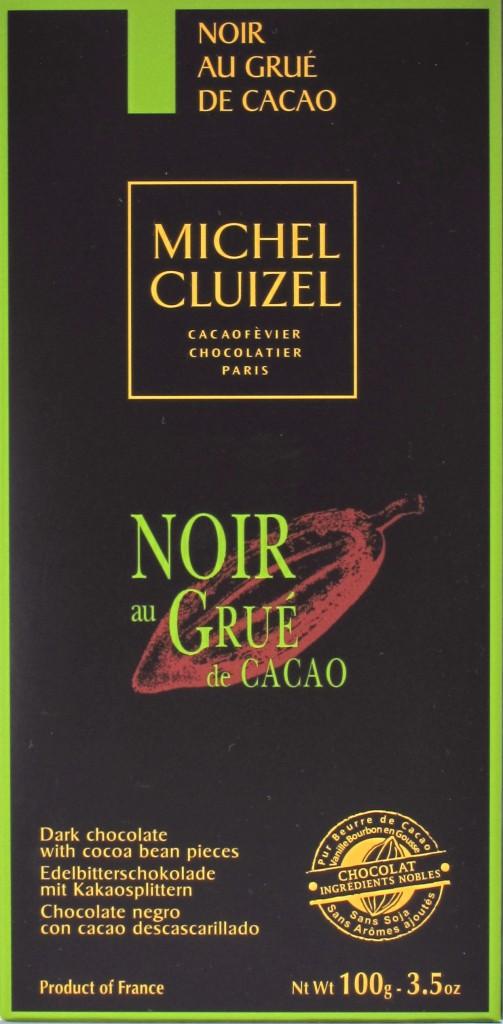 Cluizel 60%-Bitterschokolade mit Nibs