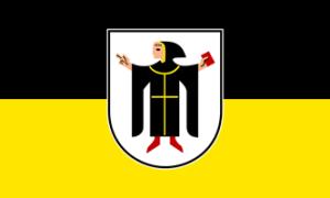 Münchner Wappen und Flagge