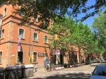 Kasernengebäude Barcelona mit MX Schokoladenmuseum