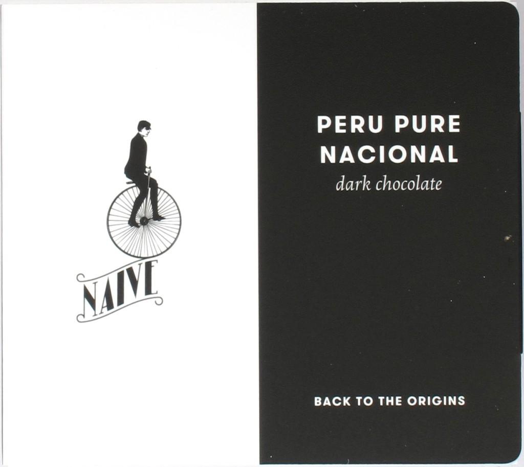 Peru-Bitterschokolade 78% von Chocolate Naive